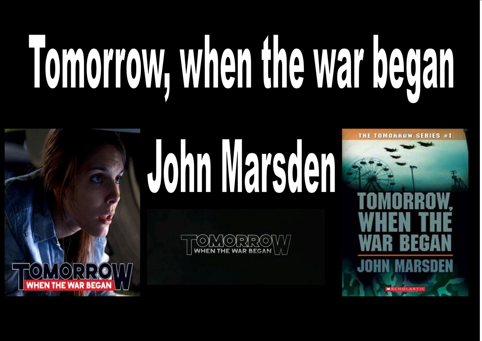 the tomorrow series An overview of john marsden's 'tomorrow' series this website is dedicated to the memory of jessica lincoln smith, a john marsden fan lost tragically at 26, but never to be forgotten.