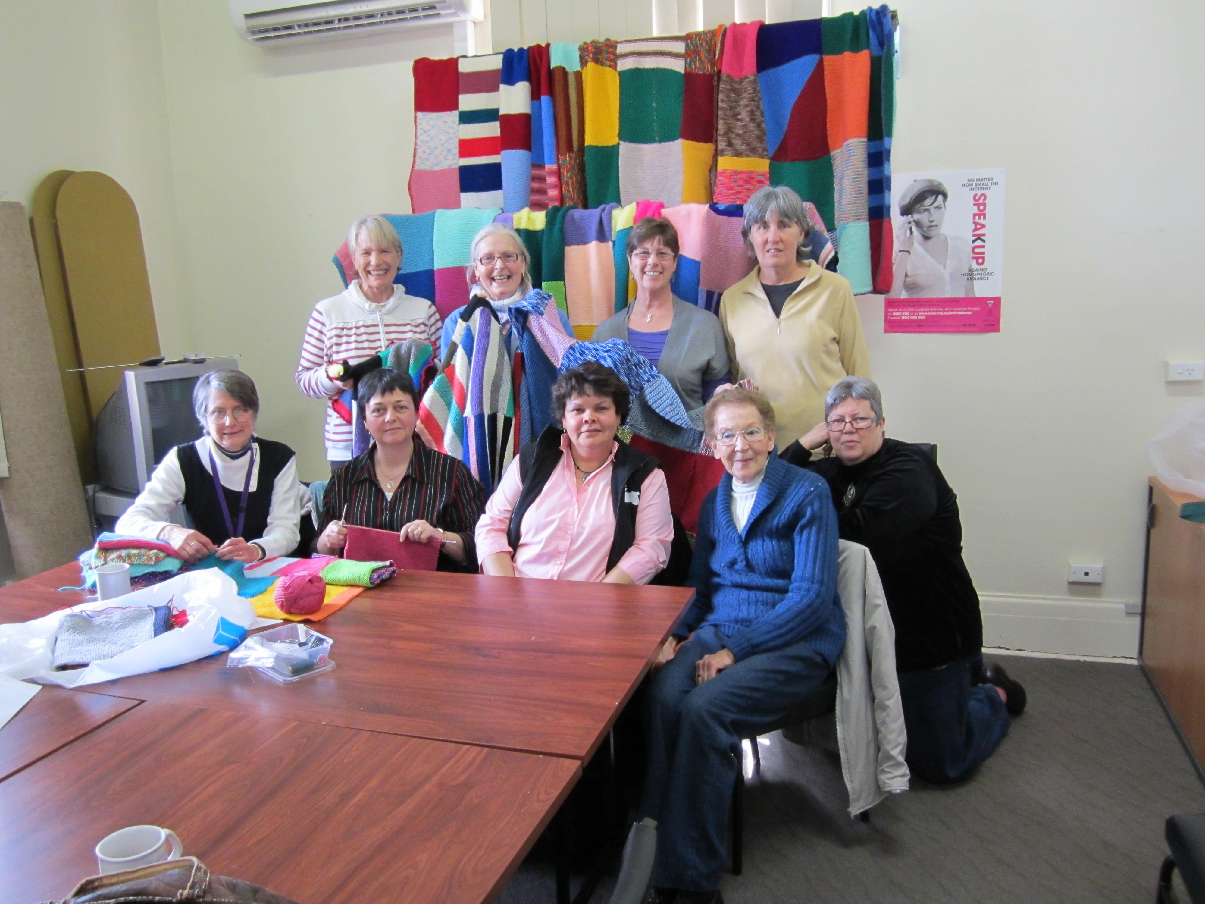 Knitting Groups Sydney : Knit in