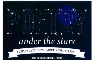 Poetry Under the Stars poster