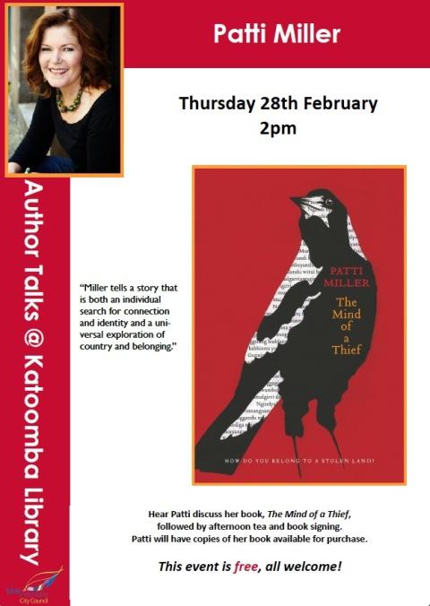 Patti Miller @ Katoomba Library