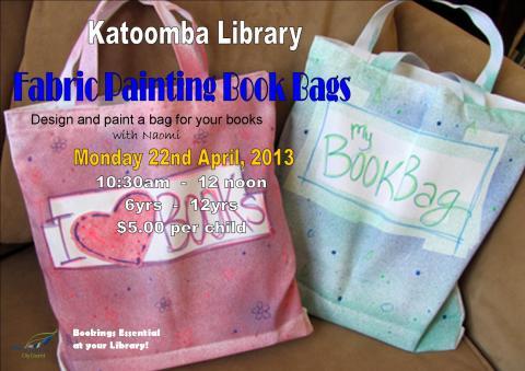 5 Book Bags Kat