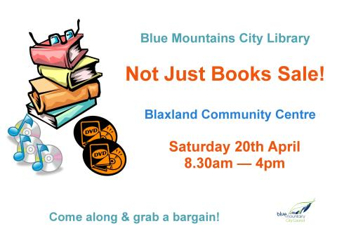 Big Book Sale poster 2013