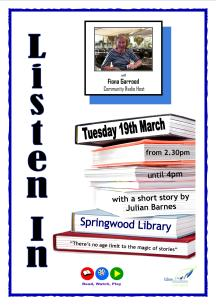 Springwood Listen In Poster March 2013 jpeg