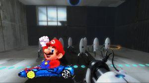 Portal/Mario mash-up