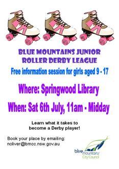 Junior Roller Derby Blue Mountains