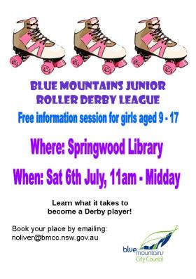 Junior Roller Derby Blue Mountains