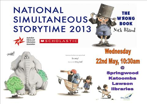 national simultaneous storytime - photo #24
