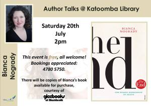 Bianca Nogrady at Katoomba Library