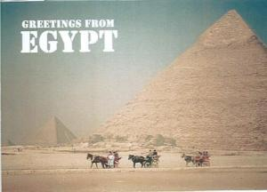 Postcard front Egypt