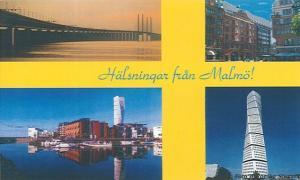 Postcard front Sweden