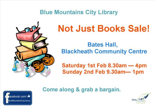 Big Book Sale poster feb 2014