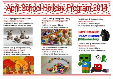 2April School Holiday program