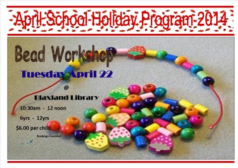 Bead workshop