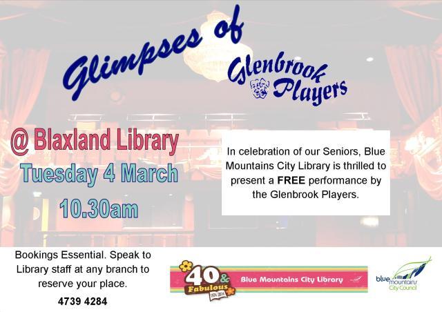 Glenbrook Players Landscape