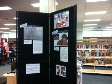Live Life! 2014 exhibit at Springwood Library during Seniors Week