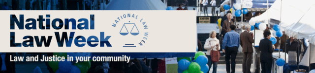 Nat Law Week banner