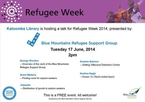 Poster refugee week