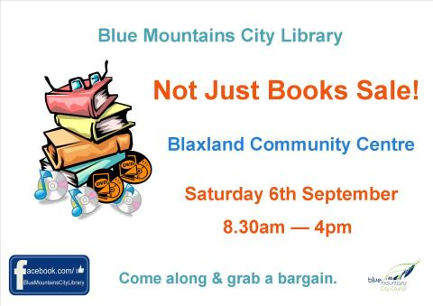Big Book Sale poster Sept 2014