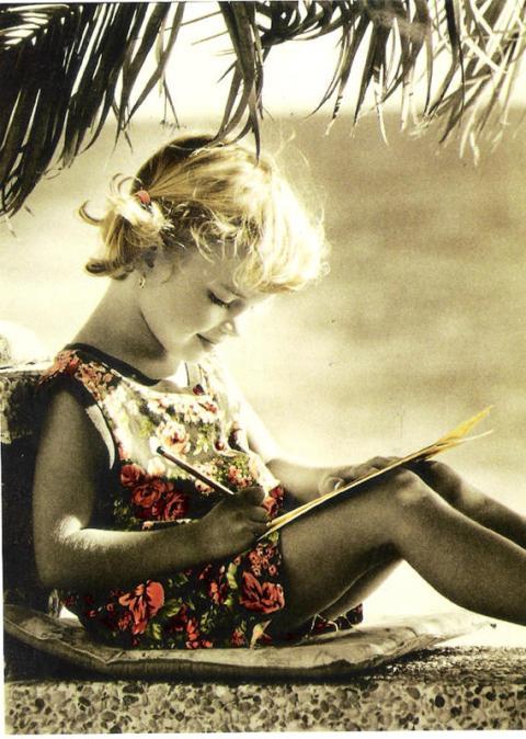 postcard girl writing-resized1