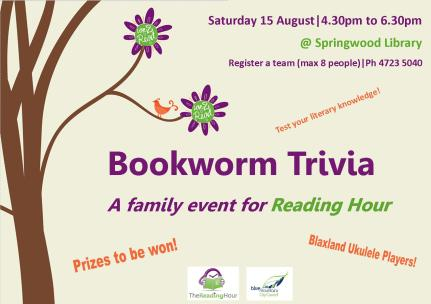 Bookworm Trivia Poster