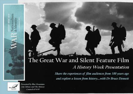 Great War Silent Movie Talk Poster no details