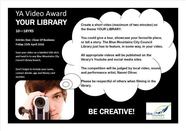 Young adult video competition your library readers in the mist videoawardposter calling reheart Choice Image