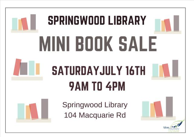 Springwood book sale landscape 2016