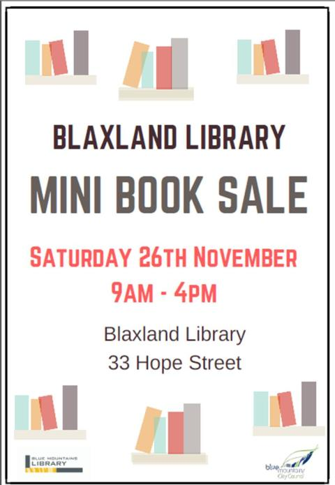 blaxland-book-sale