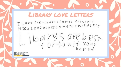 Library love letters