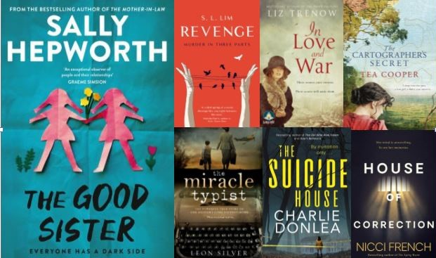 Carolyn's books of the month May 2021